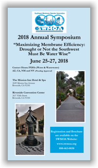 SWMOA 2018 Annual Symposium - June 25-27, 2018 - Riverside, CA @ Riverside Convention Center | Riverside | California | United States