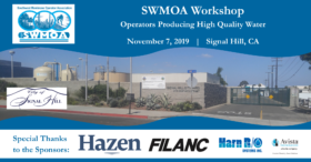 SWMOA Workshop - Signal Hill, CA - November 7, 2019 @ City of Signal Hill, Well 9 NF Treatment Plant | Signal Hill | California | United States